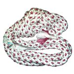 Chacott Red 2 Colors Braided Gym Rope (Nylon) (3 m) 5369-65304