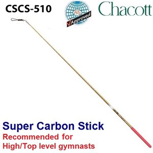 Chacott Super Carbon Stick (600 mm) 301501-0010-58 (Recommended for High / Top level gymnasts)