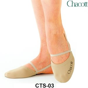 Chacott Beige High Cut Stretch Half Shoes 301070-0003-98