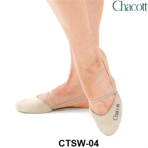 Chacott Washable Stretch Half Shoes (Synthetic Leather) 301070-0004-18