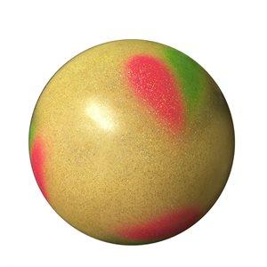 Sasaki White-Green Stardust Tri-color Ball (18.5 cm) M-206