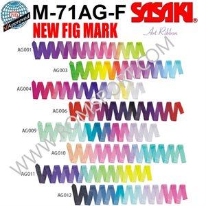 Sasaki Cinta de Gradación de Arte (6 m) M-71AG-F
