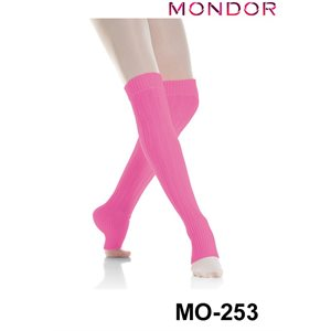"Mondor 24"" Black Long Legwarmers 00253"