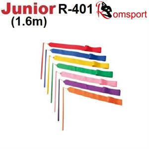 Romsports Performance Ribbon (1.6m x 4cm) & Stick (30 cm) Set R-401