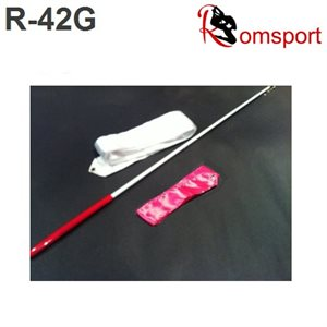 Romsports Ribbon (6 m) & Stick (60 cm) with Grip Set R-42G
