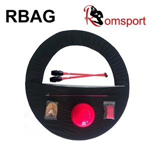 Romsports Black Gymnastics Set Bag RBAG-BK
