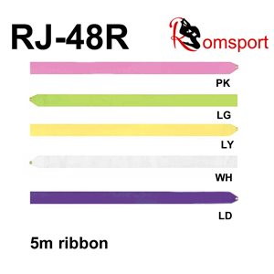 Romsports Single Color Junior Satin Ribbon (5cm x 5m) RJ-48R