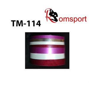 "Romsports Metallic Vinyl Base Adhesive Tape (75' x 1 / 4"") TM-1 / 4"