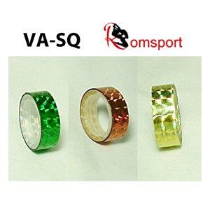 "Romsports Squares Metallic Adhesive Tape (9' x 1 / 2"") VA-SQ"